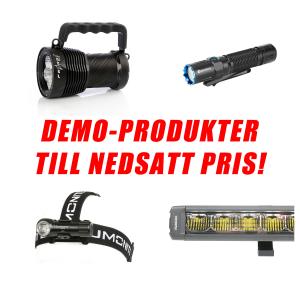 DEMOPRODUKTER - Skadade/saknad förpackning - NEDSATT PRIS!