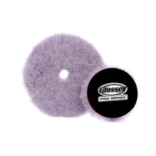 Ullrondell GlosserPro Wool Polishing Pad, Extreme Cut
