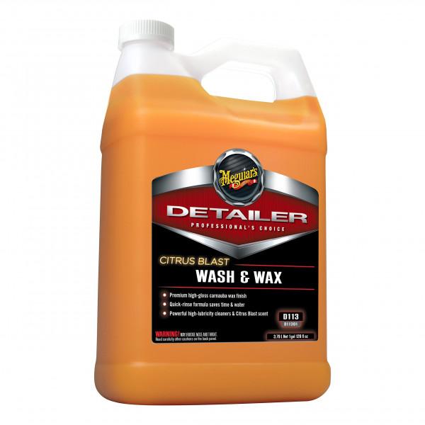 Vaxschampo Meguiars Citrus Blast Wash & Wax, 3780 ml