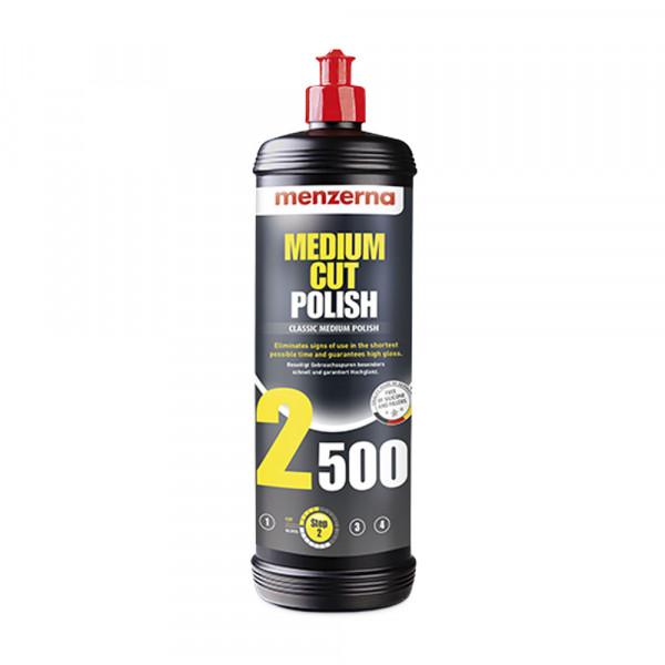 Polermedel Menzerna Medium Polish 2500, Rubbing / Polishing (1 steg)
