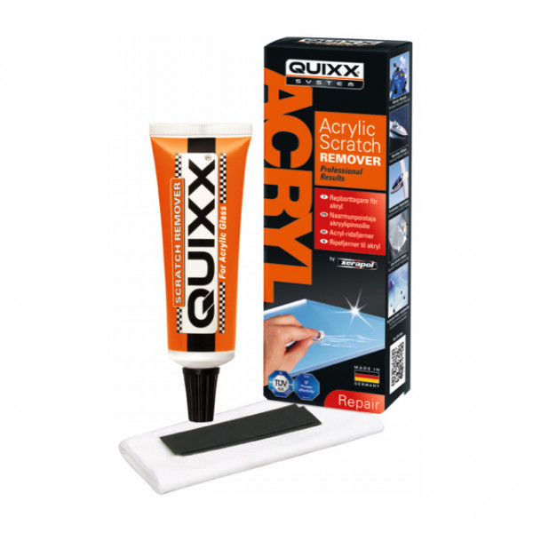 Repborttagare Plexiglas Quixx Acrylic Scratch Remover kit