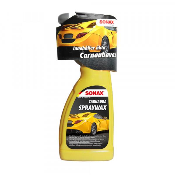 Snabbvax Sonax Carnauba Spraywax, 500 ml