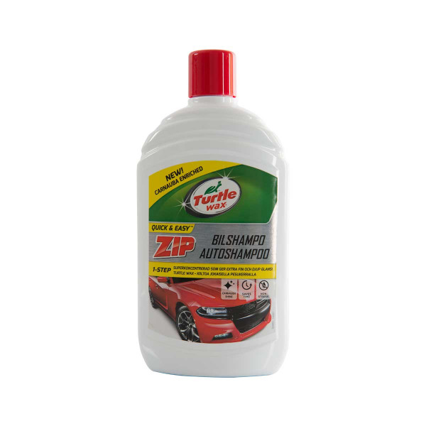 Vaxschampo Turtle Wax Zip Bilshampo, 500 ml