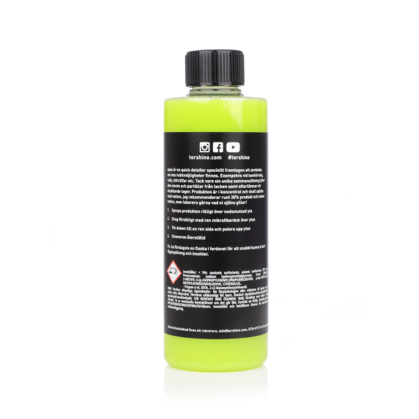 Rengörande Snabbvax tershine Apex (V2), 500 ml