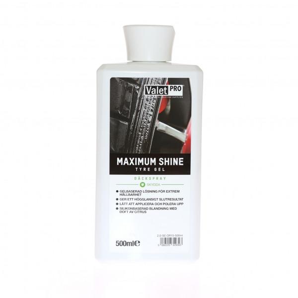 Däckglans ValetPRO Maximum Shine, 500 ml