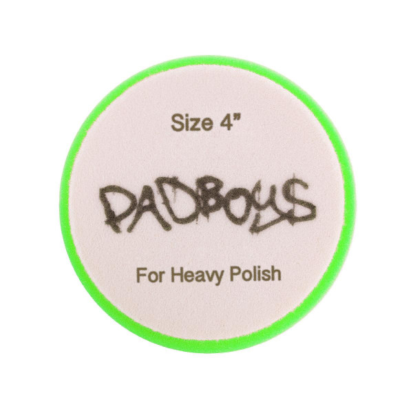 Poleringspute Padboys Hex, Grønn (Heavy Polish)