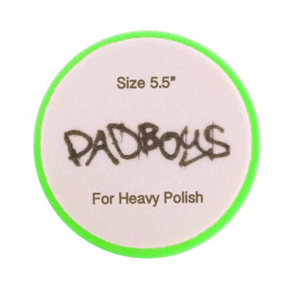 Skumrondell Padboys Hex, Grön (Heavy Polish)