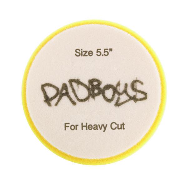 Skumrondell Padboys Hex, Gul (Heavy Cut)