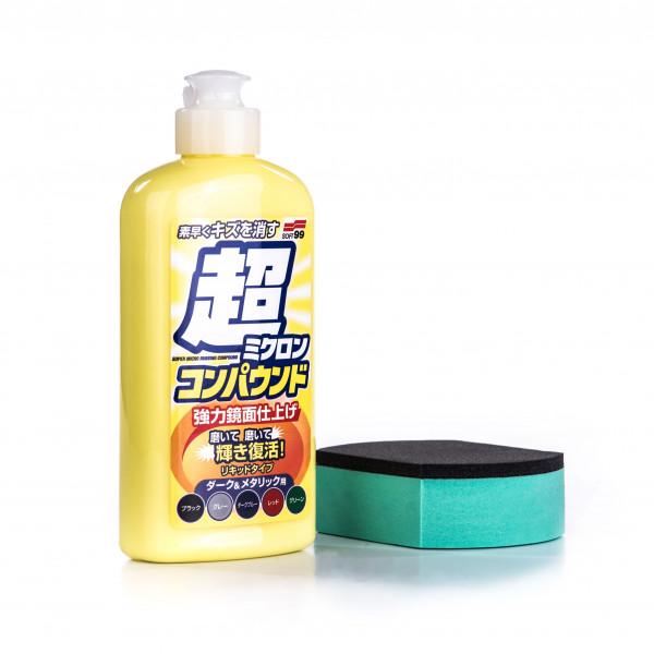 Polish (lackrengöring) Soft99 Micro Liquid Compound Dark, 250 ml