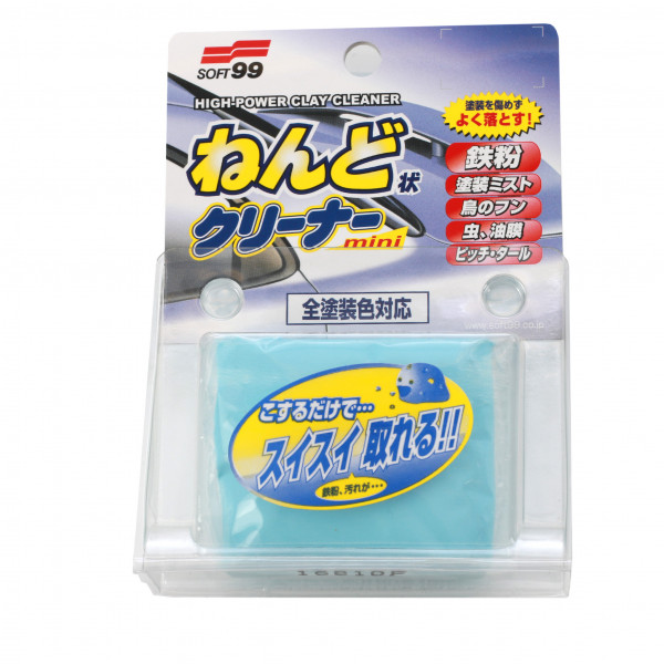 Rengöringslera Soft99 Surface Smoother Clay bar, 100 g