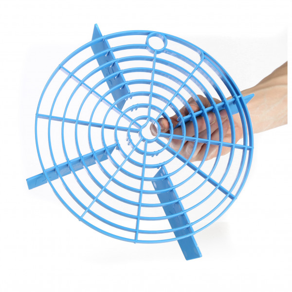 Smutsavskiljande Raster Scratch Shield, Blå