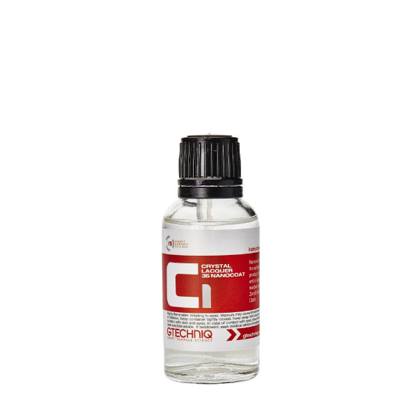 Lackförsegling Gtechniq C1 Crystal Lacquer, 50 ml