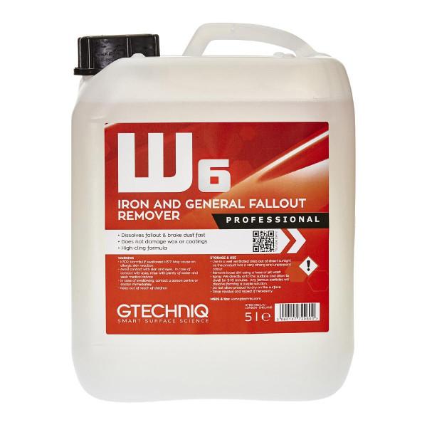 Flygrostlösare Gtechniq W6 Iron and General Fallout Remover