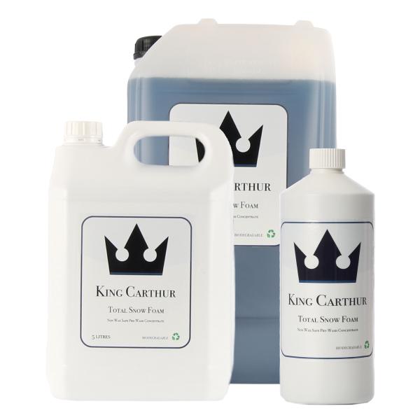 Liuotinpesuaine King Carthur Total Snow Foam