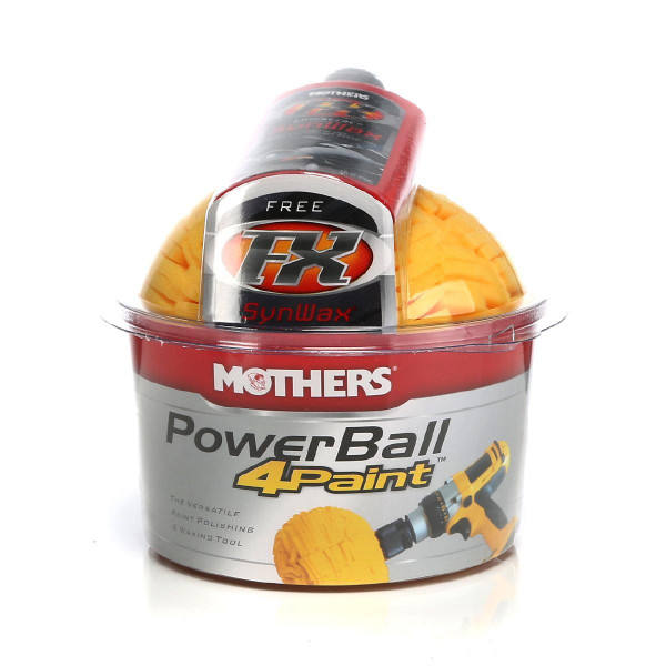 Polerboll Lack Mothers Powerball 4paint 140 mm