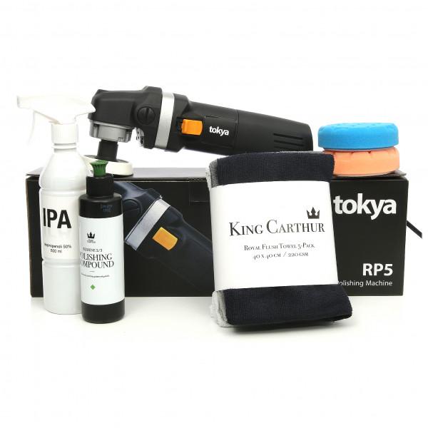 Poleringspaket Tokya RP5 All in One BASIC - Roterande