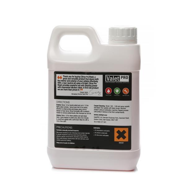 Förtvättsmedel ValetPRO Citrus Pre Wash