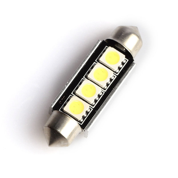 Spollampa 4 LED (42 mm), 160 lm (2 st)