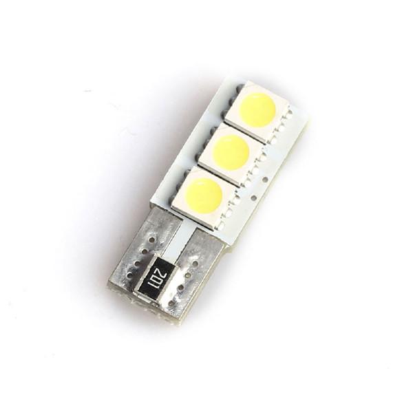 T10 lampa (W5W) 3 LED, 120 lm (2 st)