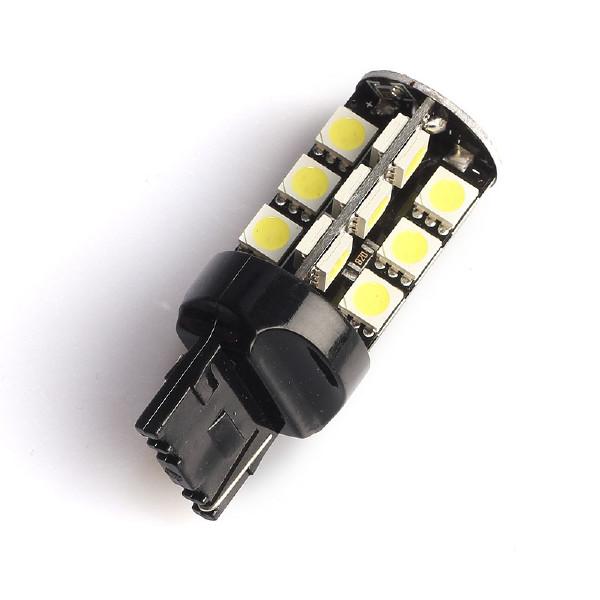 LED-polttimo Purelux T20-lasikanta (W21W) 27 LED, 486 lm (2 kpl)