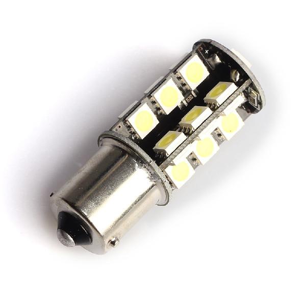 LED-polttimo Purelux BA15S (P21W) 27 LED, 486 lm (2 kpl)