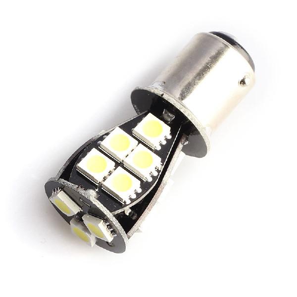 BAY15D lampa (P21/5W) 18 LED, 324 lm (2 st)
