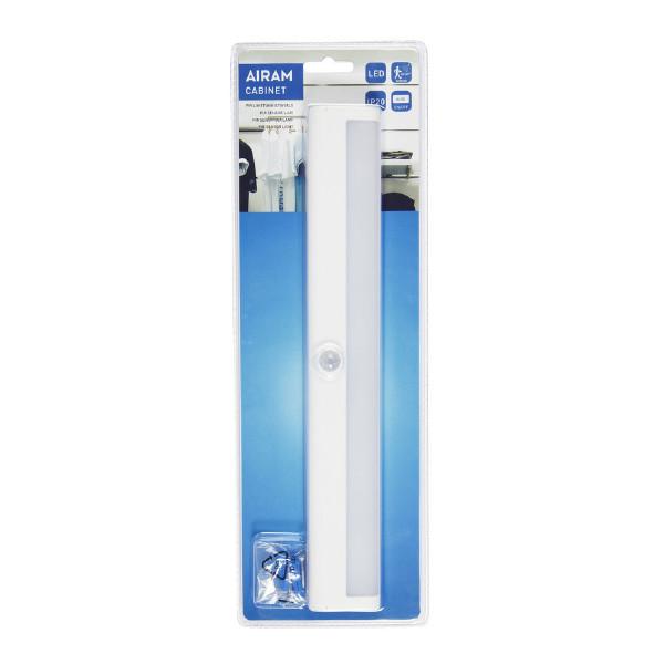 Garderobsbelysning Airam Cabinet, 80 lm