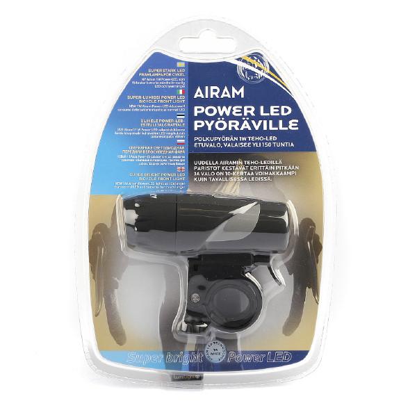 Cykellampa, Airam Powerled Pro 1W