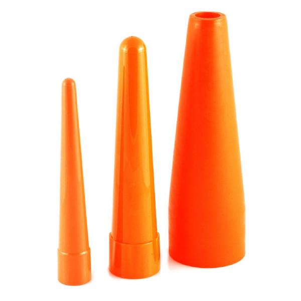 Orange ljuskon