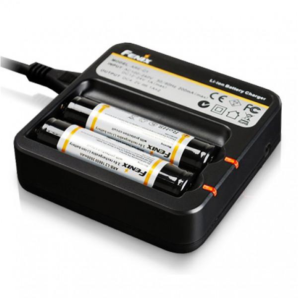 Laddare Fenix ARE-C1, 18650 batterier