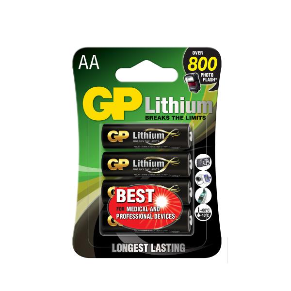AA-batteri GP Lithium