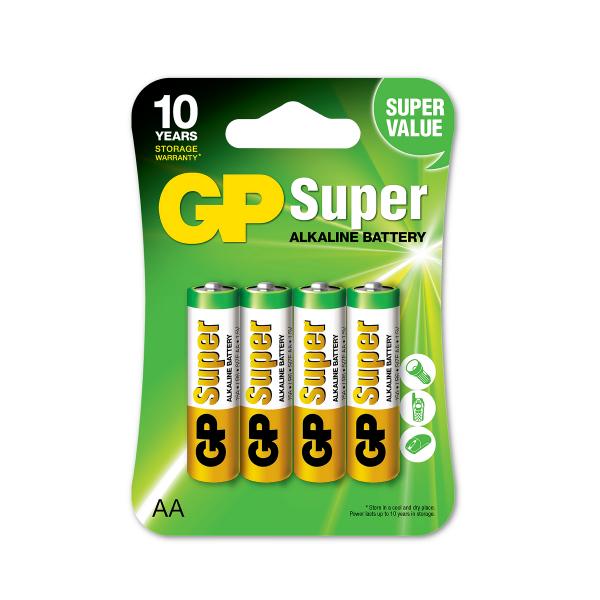 AA-paristo GP Super Alkaline