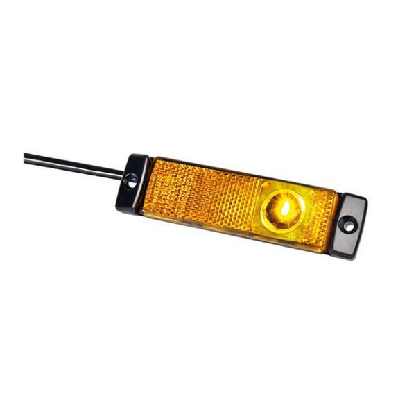 Huomiovalo / Äärivalo Hella Sidelight Horizontal ADR, 24 V