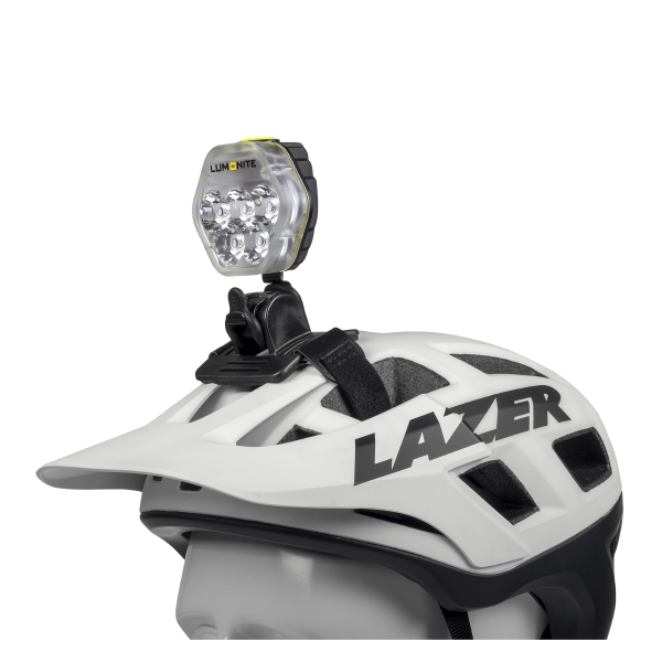 Cykelhjälmslampa LUMONITE® Navigator2, 3864 lm