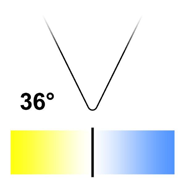 GU10 LED-lampa, Naturlight, 6W, Neutralvit, Smal
