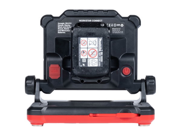 Arbetsbelysning NightSearcher WorkStar Connect, 2500 lm