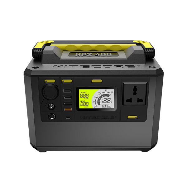 Powerbank / Laddstation Nitecore NPS400, 421 Wh
