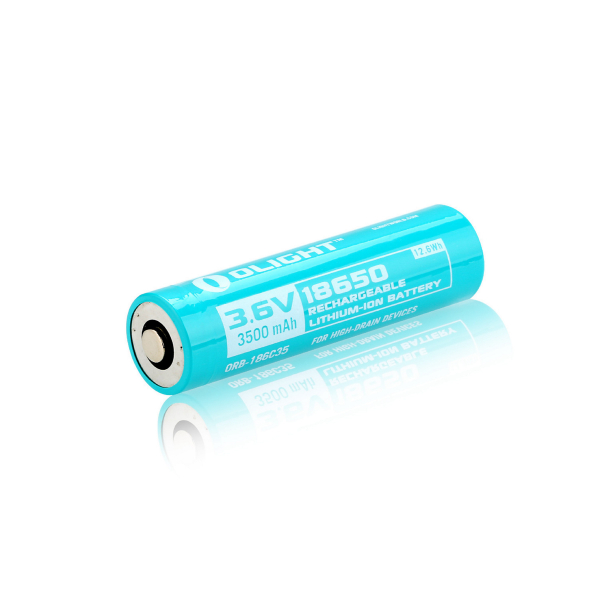 Custom 18650 HDC-batteri, Olight, 3500 mAh