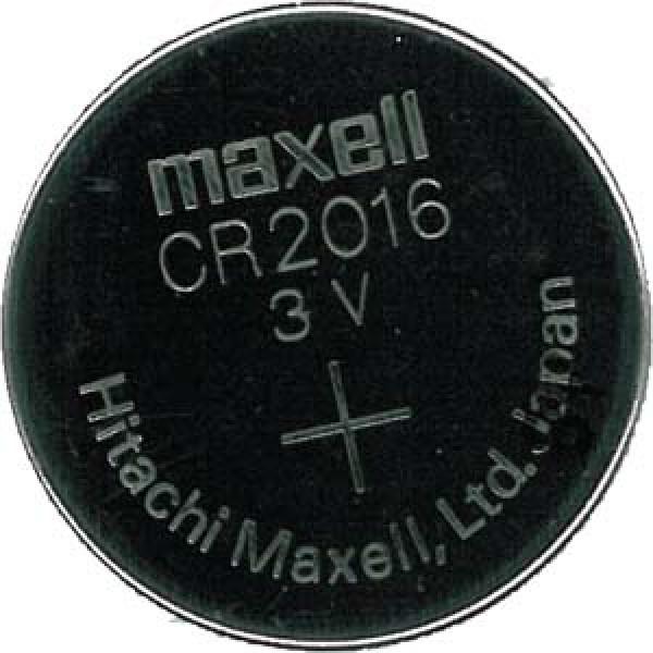 CR2016 knappcells batteri