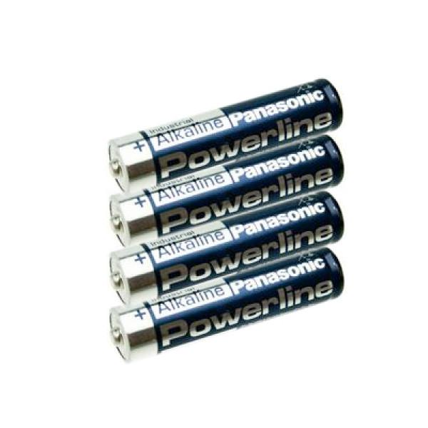 AAA-batteri Panasonic Powerline, 4 st