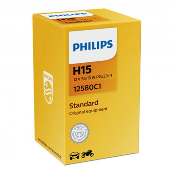 Halogeenipolttimo Philips H15, 12V, 55/15W