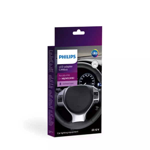 Canbus-vastus Philips H8/H11/H16 / Pari
