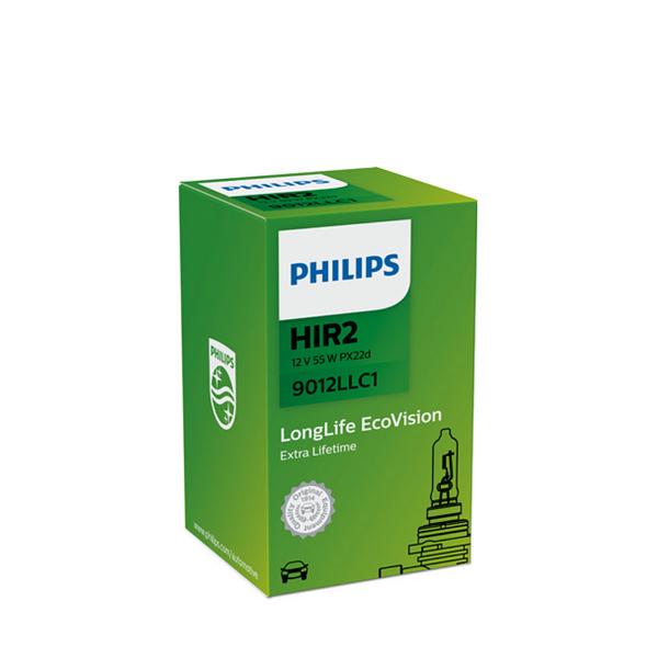 Halogeenipolttimo Philips LongLife, 55W, HIR 2