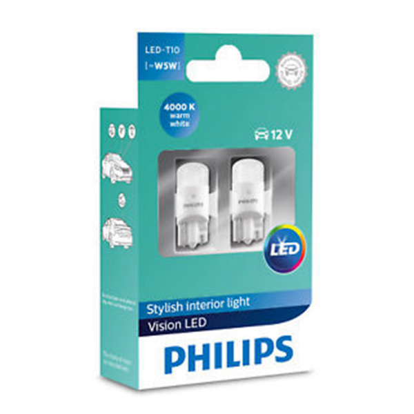LED-konvertering PHILIPS T10 Ultinon +160%