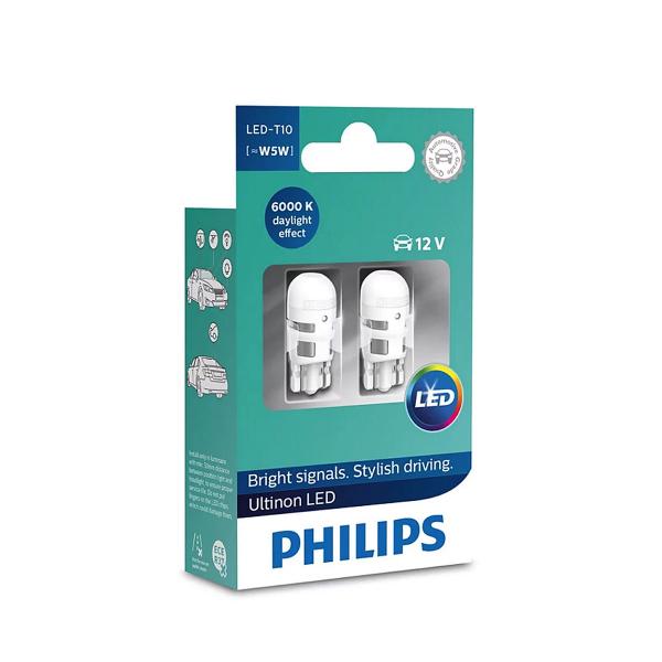 LED-polttimot PHILIPS T10 Ultinon +160%