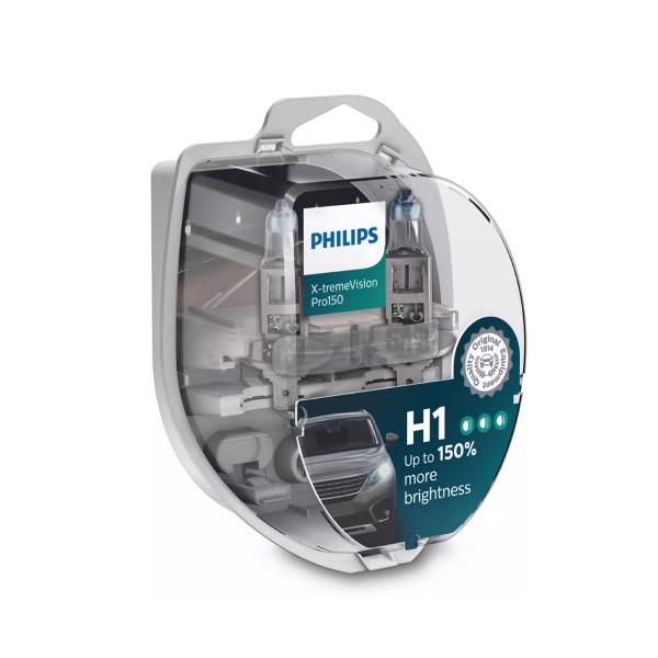 Halogeenipolttimo PHILIPS X-TremeVision Pro150, 150%, 55W, H1