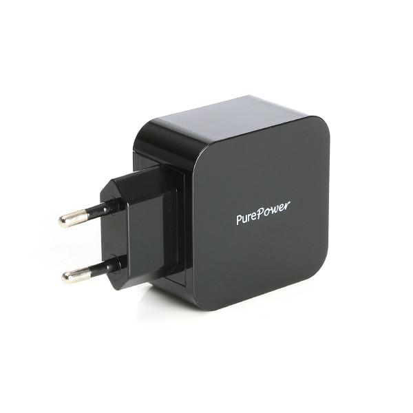 PurePower Verkkovirta-2xUSB-adapteri