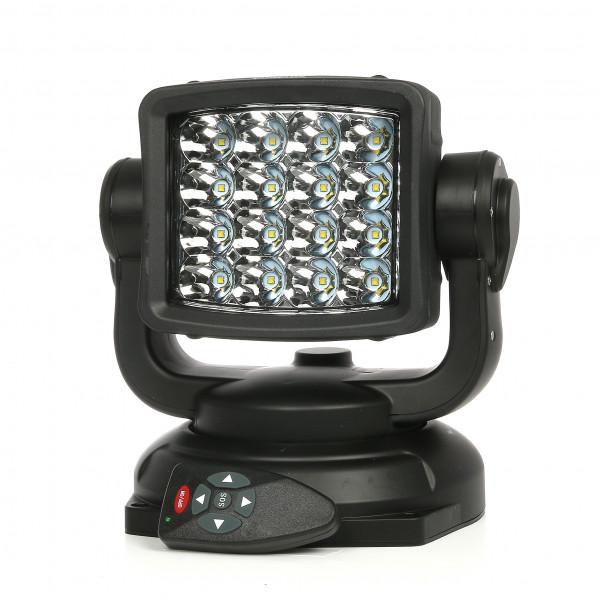 Fjernstyrt LED søkelys Purelux RC360 Spot, 80W