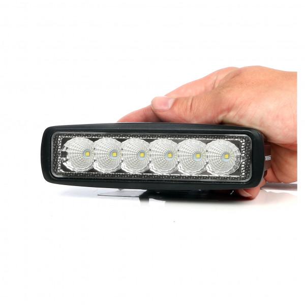 LED-Backljus / Arbetsbelysning Purelux Terrain 18W, Bred