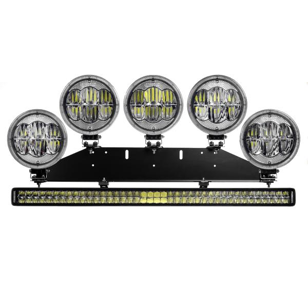 Lisävalosarja Purelux RALLY 5+1 - 700W / 48675 lm